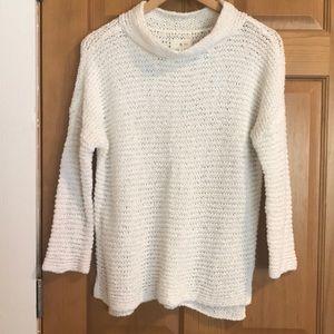 Lou & Grey Sweaters - Lou & Grey cream sweater. Size Small. Like new!